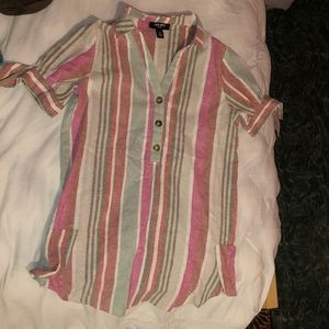 causal blouse dress